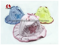 Baby Girl Bucket Hat/Sun Hat with String