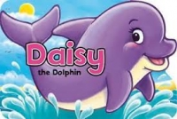 Animal Shaped Board Book - Daisy