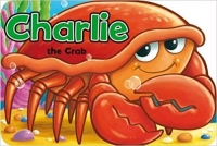 Animal Shaped Board Book - Charlie