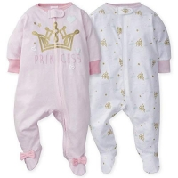 Gerber 2-Pack Girls Princess Castle Sleep N' Play