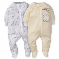 2-Pack Neutral Grey Lamb Sleep N' Plays