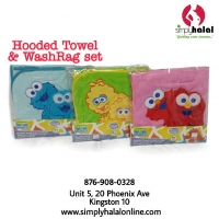 Hooded Towel & Washmitt Set