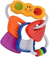 Baby Rattle Key Teether