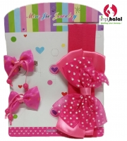 Baby Headband with Clips