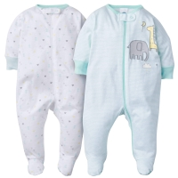 Gerber 2-Pack Neutral Elephant Sleep N' Play