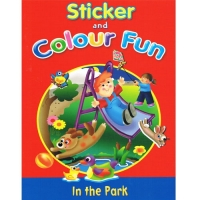 Sticker and Colour Fun Book - In the Park