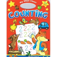 My Wipe Clean - Counting - With Foxy Book