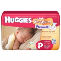 Huggies® Little Snugglers Preemie Disposable Diapers (30 Count)