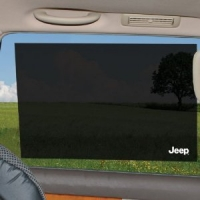 Jeep Cling Sunshade - 2 Pack