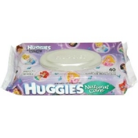 Huggies Natural Care Baby Wipes, Pop-Top Pouch, Fragrance Free 32 ea