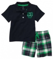 "Carter's® ""Rookie Of The Year"" Short Set Toddler Boy"