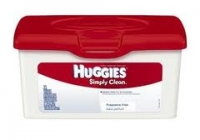 Huggies Simply Clean  Wipes (72)